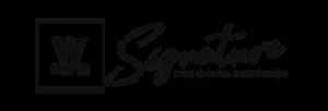 Logo White Signature Event Catering